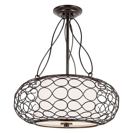 Trans Globe PND-820 Pendant - Brown - 18W in.