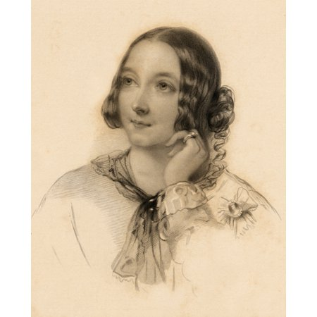 The Honourable Matilda Paget 1837-1855 Maid Of Honour To Queen Victoria Drawn By J Hayter Engraved By B Eyles PosterPrint