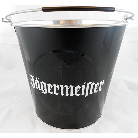 Drink Ice Beer Bucket Premium, A Jagermeister black bucket with rubber handle By Jagermeister,USA](Jagermeister Halloween Drinks)