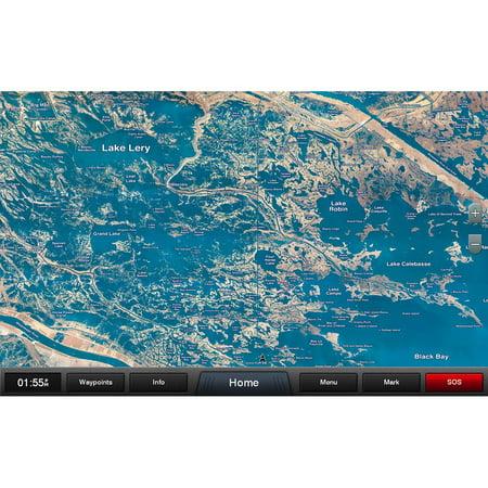 Garmin Standard Mapping® - Louisiana East Classic microSD