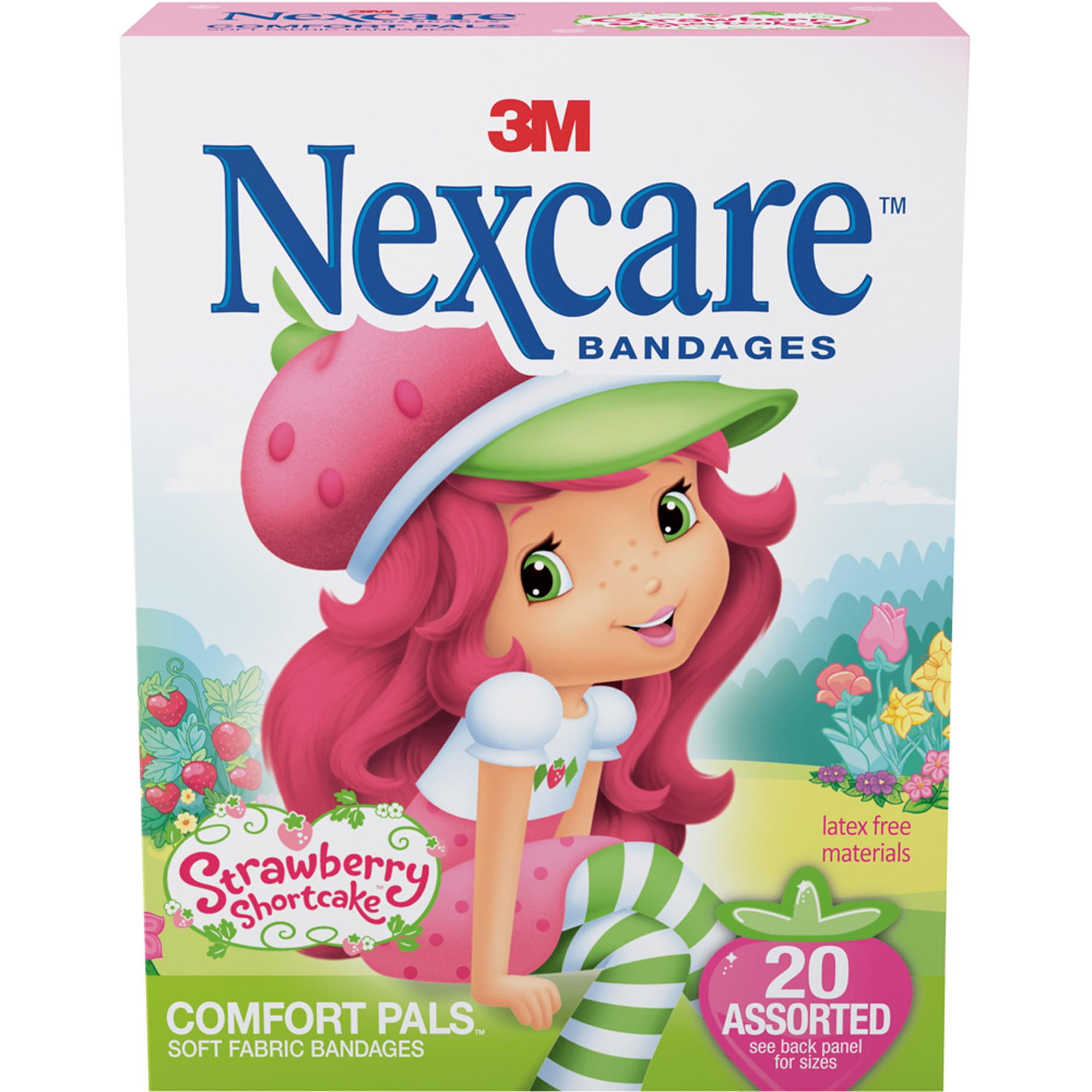 3M Nexcare Comfort Pals Bandages, 20 ea