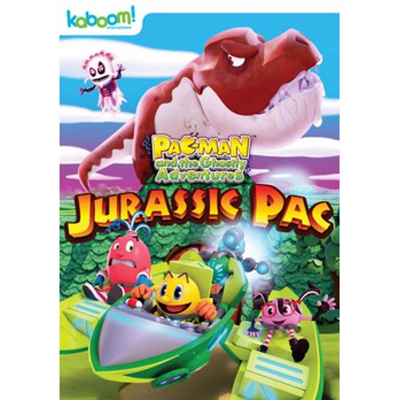 Pac-Man & The Ghostly Adventures: Jurassic Pac (DVD)