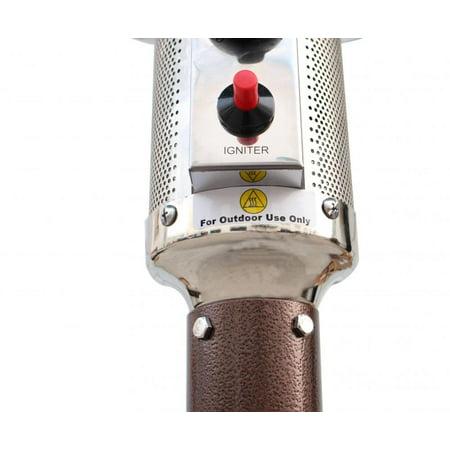 Bronze Garden Outdoor Patio Heater Propane Standing LP Gas Steel w/accessorie 87