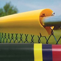 Saf-Top Fence Guard, Yellow