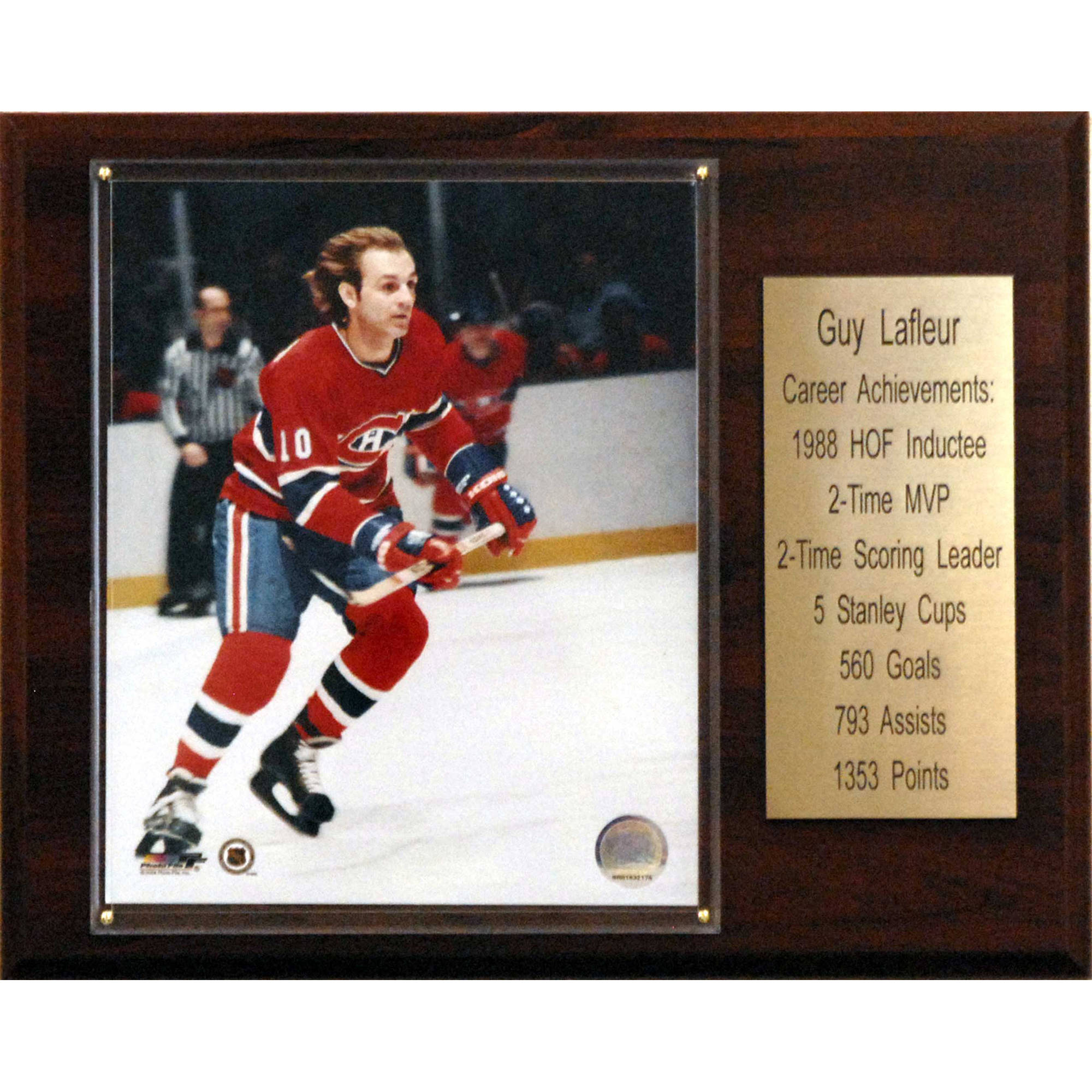 C&I Collectables NHL 12x15 Guy Lafleur Montreal Canadiens Career Stat Plaque by C & I Collectables