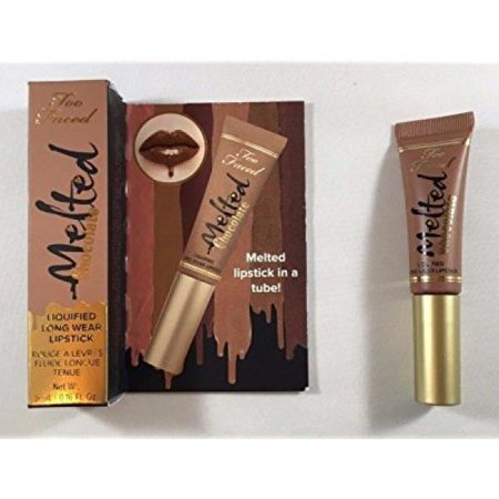 Too Faced Melted Chocolate Liquified Long Wear Lipstick - Chocolate Honey 0.16 Fl oz / 5 ml - travel