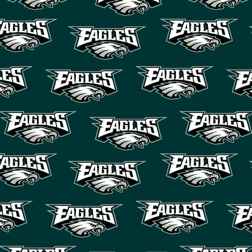 NFL Philadelphia Eagles Cotton Fabric