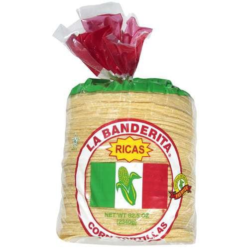LA Banderita: Ricas/Premium Corn Tortillas, 82.5 Oz