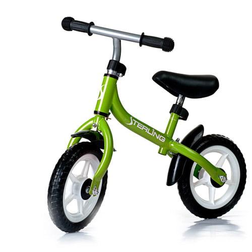WonkaWoo Ride and Glide Mini-Cycle Balance Bike, Green