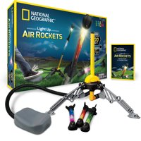 National Geographic Light Up Air Rocket, Educational STEM Toy