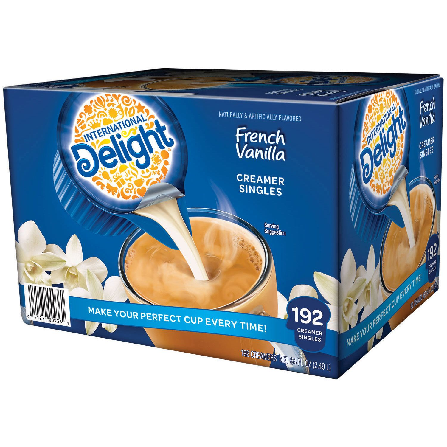 Product of International Delight French Vanilla Creamer (192 ct.) [Pack of 2] [Bulk Savings]