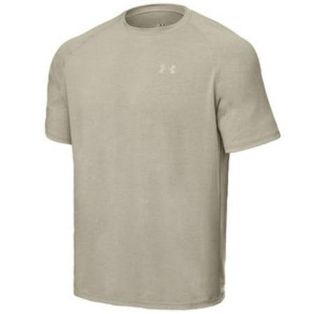 c99d4eb9 Under Armour - 1005684 Men's Desert Sand Tactical Tech T Short Sleeve Shirt  Large - Walmart.com
