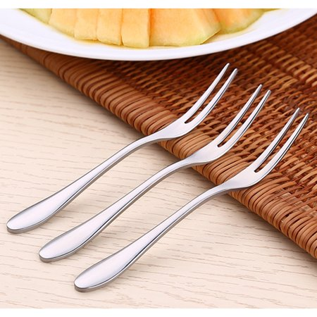 Name: Fruit forkMaterial: Stainless steelSize: 12 * 1.2cmWeight: 10gColor: Stainless steelProducts include:1x Fruit fork - image 2 of 5