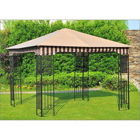 Sunjoy Original Manufacturer Replacement Canopy For Lakeside Gazebo (10X10 Ft) L-GZ730PST-C Sold At Canadian tire