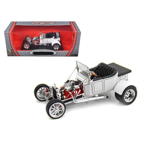 1923 Ford T-Bucket Roadster White 1/18 Diecast Car Model by Road Signature