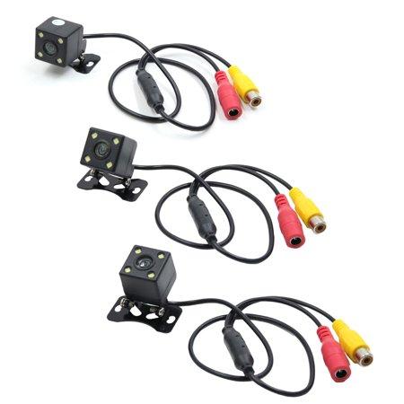 NTSC/PAL CCD 4 LEDs Light Waterproof Reverse Rear View Parking Camera 170 Degree - image 1 of 2