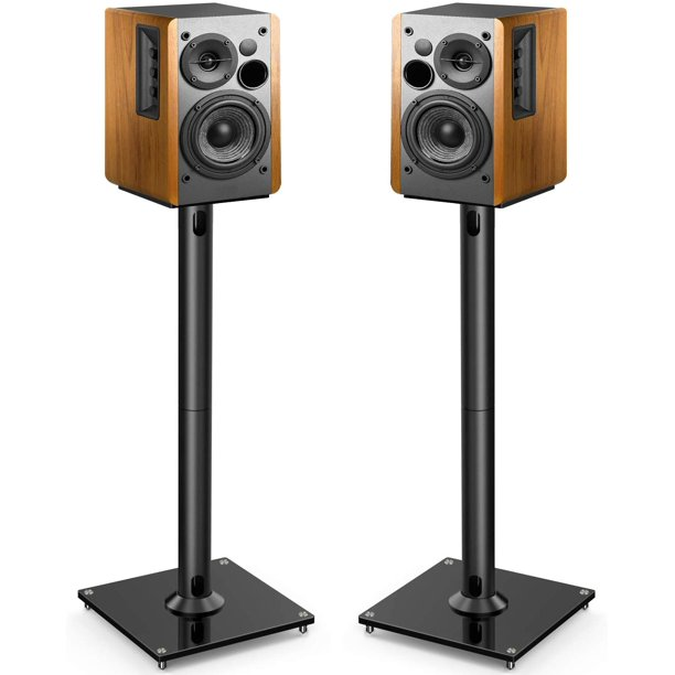PERLESMITH Universal Floor Speaker Stands 26 Inch for Surround