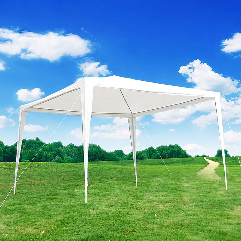 10'x10' Outdoor Canopy Party Wedding Tent Straight Leg Heavy Duty Gazebo Patio Pavilion Yard Shelter by