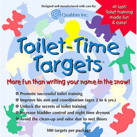 Toilet Targets (Quabbin Toilet Targets Training Products for Boys )