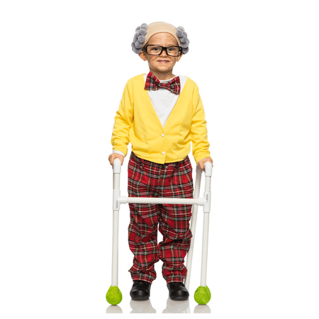 5 Year Old Twin Halloween Costumes (Toddler Old Man Grandpa)