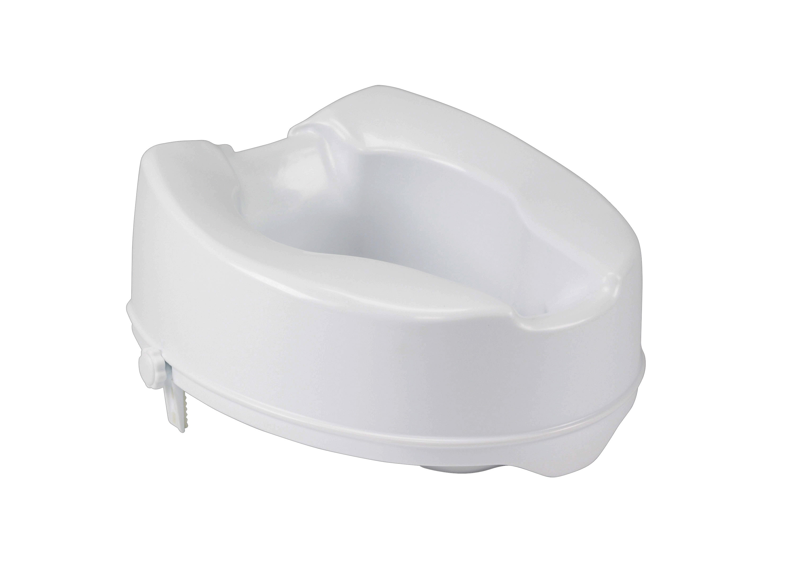 Cool Drive Medical Raised Toilet Seat With Lock Standard Seat White Short Links Chair Design For Home Short Linksinfo