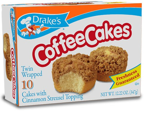 Drake's Coffee Cakes 10 CT, 12.22 OZ by Drake's