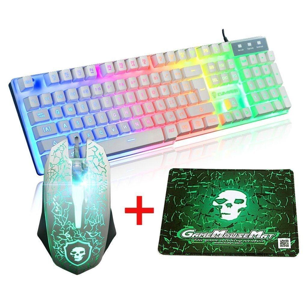 Wireless Laptop//Game//Office Keyboard Keyboard Mouse Sets-C