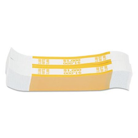 Mmf Industries 401000 Currency Straps, Dollar Bills, Yellow (Currency Dollar)