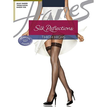 92f665d0f8d Hanes - Hanes Silk Reflections Thigh Highs