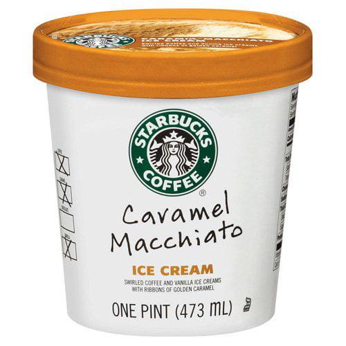 Starbucks Caramel Macchiato Ice Cream, 1 pt