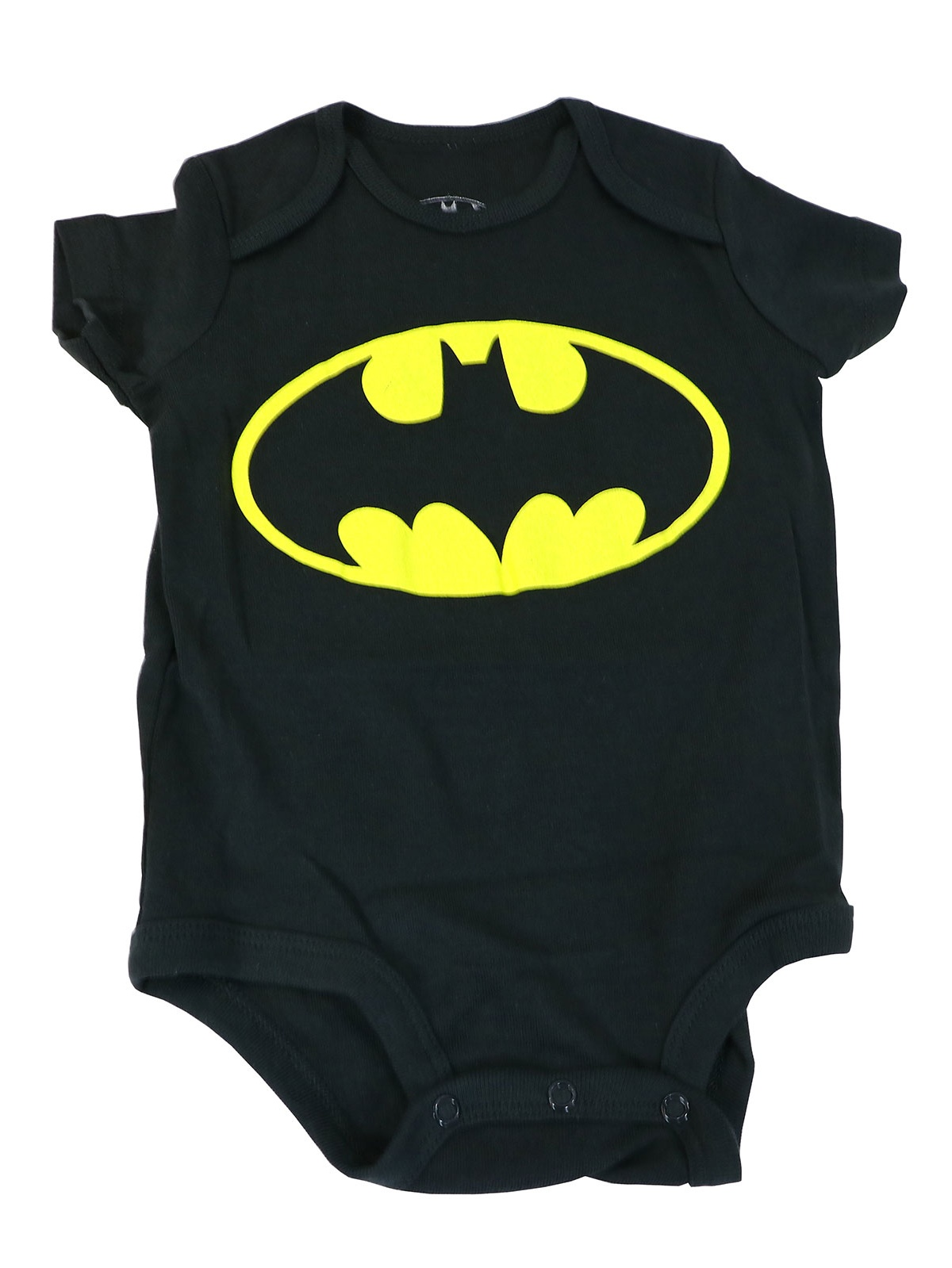 DC Comics Batman Logo Black Baby Creeper