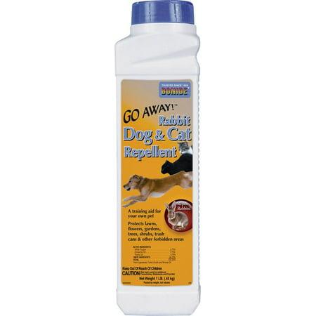 BONIDE Animal Repellent, All Natural Dog & Cat Repellent, 1 lb. Granule