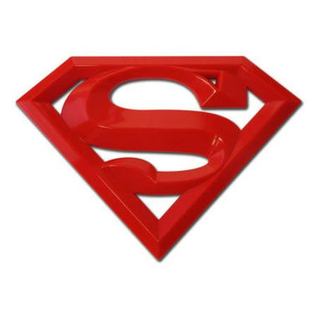 Superman Red Acrylic Emblem