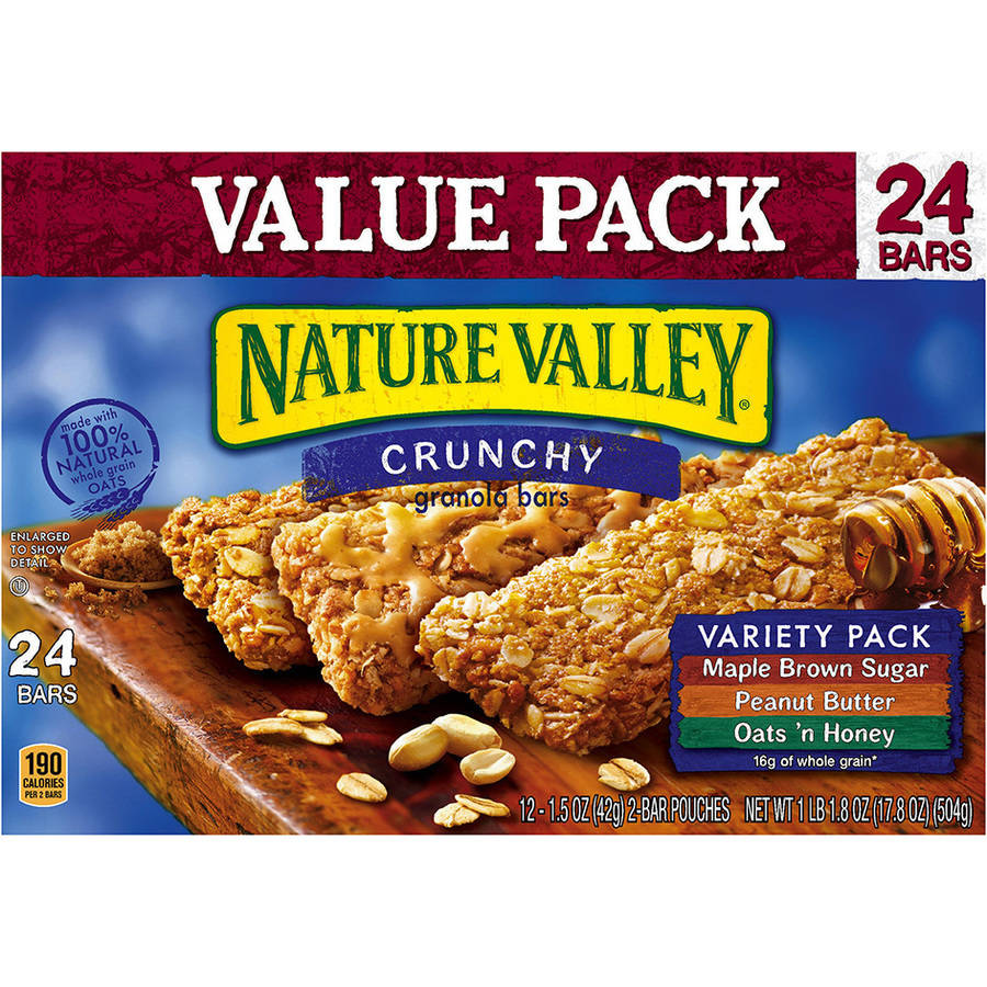 Nature Valley�� Crunchy Granola Bars Variety Pack 12-2 ct Pouches
