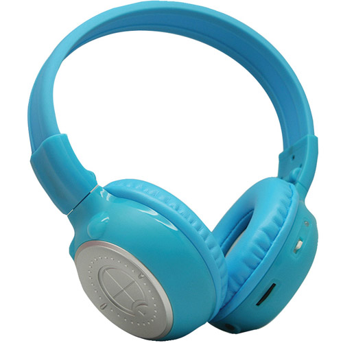 Single 2 Channel Infra-Red Headphone  Blue