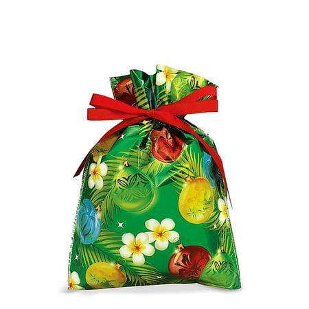 Hawaiian Drawstring Large Holiday Gift Bags 3 Pack Ornaments Of The Islands