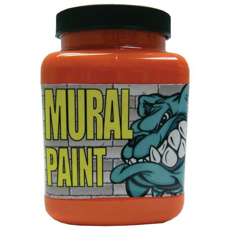 Chroma Mural Paint, Pint, Fury Orange