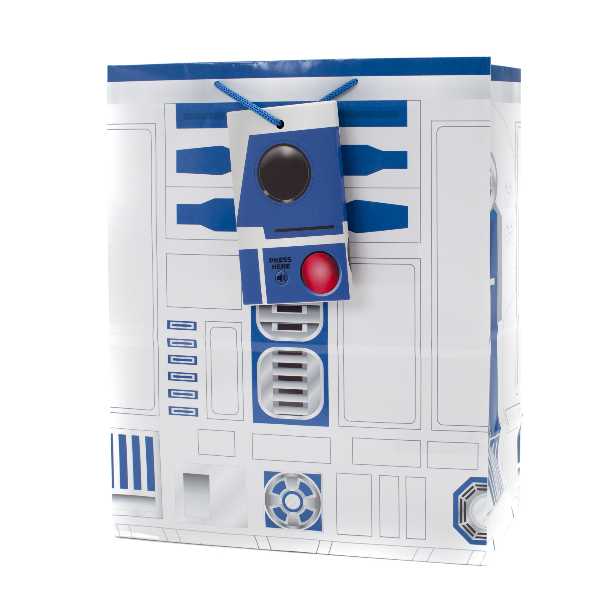 Hallmark, Star Wars R2-D2, Light and Sound, Large Gift Bag