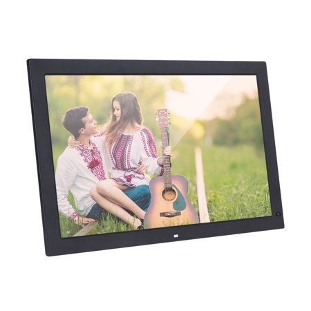 18.5 Inch Wide Screen 1366 * 768 High Resolution LED Digital Photo Frame Digital Album with Remote Control Motion Detection Sensor Support Audio Video Playing Clock Alarm Calendar