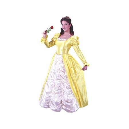 Adult Yellow Belle Dress - Princess Belle Dress Pattern For Adults