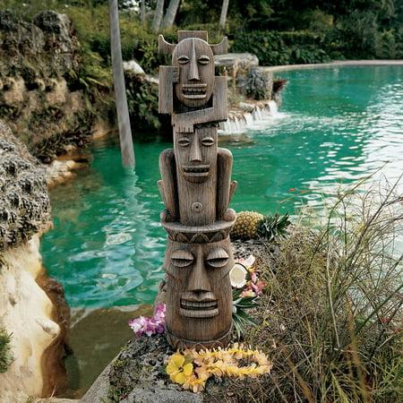 Design Toscano Gods of the Three Pleasures Tiki Gods Statue