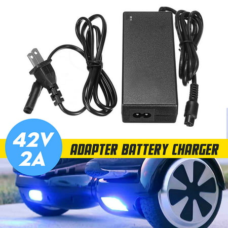 42V 2A AC DC Power Adapter Battery Charger For Smart Balance Self Balancing Safe Electric Scooter Wheel US covid 19 (Dc Peak Power Charger coronavirus)