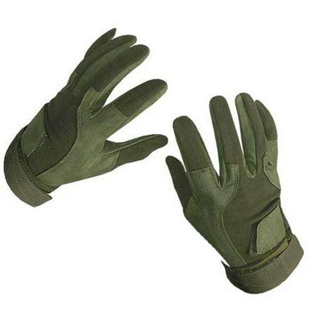 Rap4 Paintball SOF Tactical Gloves Full Finger - Olive Drab - Medium