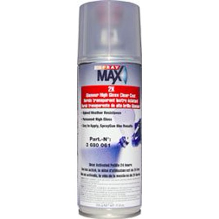 USC Spray Max 2k High Gloss Clearcoat Aerosol Ash Burl High Gloss