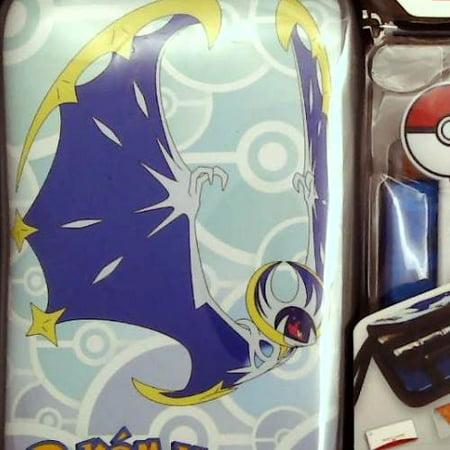 Refurbished Nintendo 3DS Pokemon Sun & Moon Starter Kit - Lunala with PokeBall Stylus - Nintendo