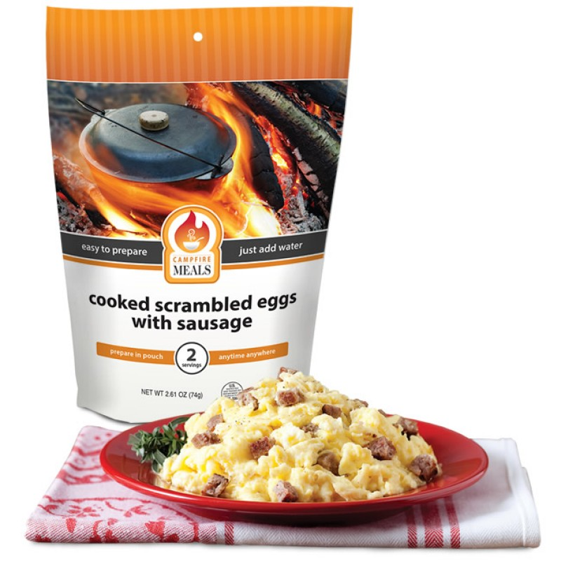 Campfire Meals Scrambled Eggs with Sausage by Supplier Generic