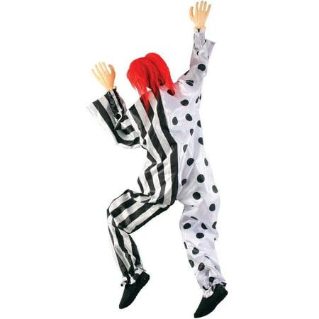 5-Foot Hanging Halloween Prop - Killer Clown - Killer Clowns For Halloween