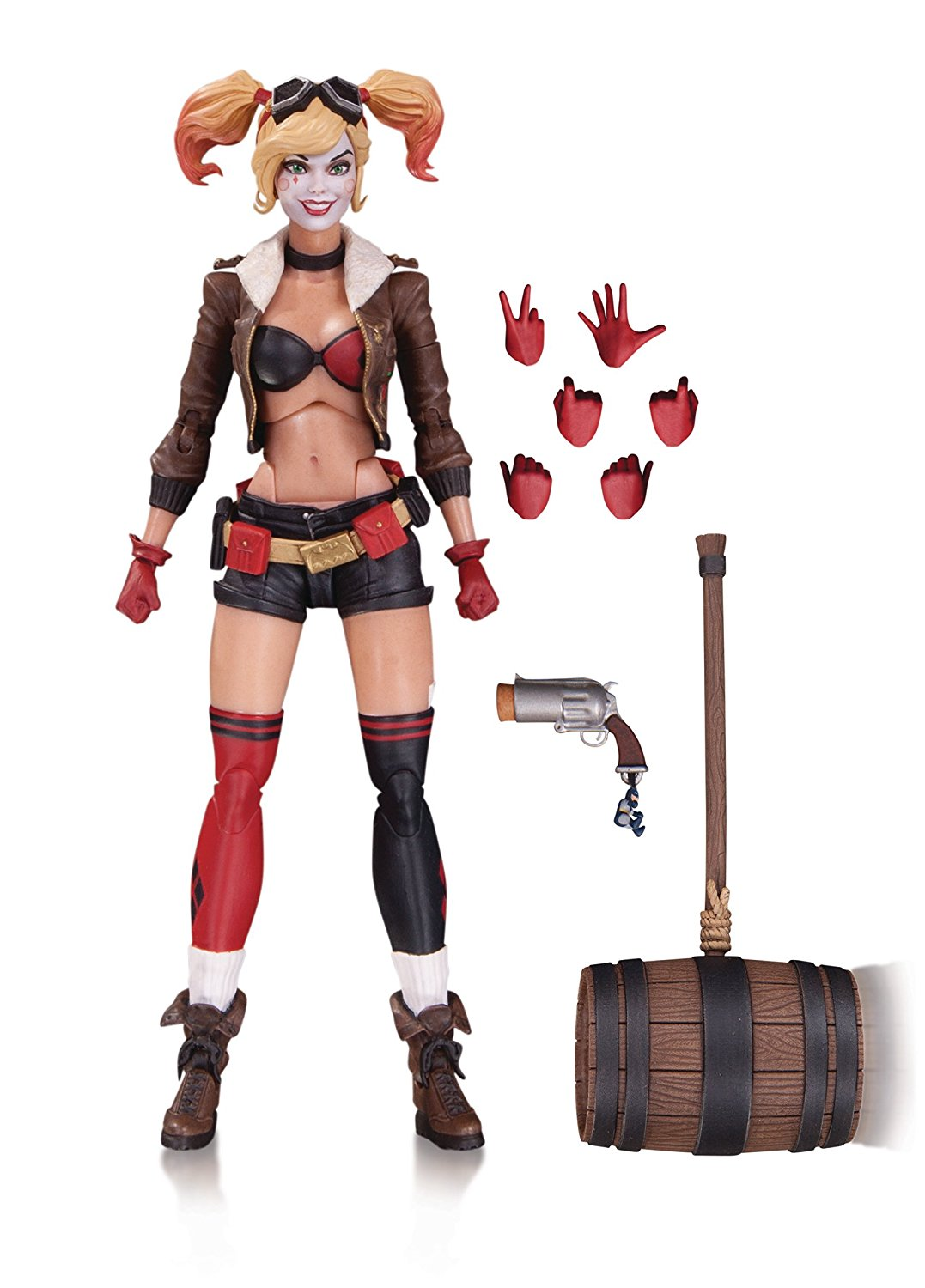 Bombshells Harley Quinn Action Figure, The DC bombshells debut in action figure form By DC... by