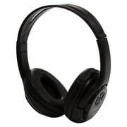 Impecca HSB120BTK Bluetooth Stereo Headset + Music Player - Black