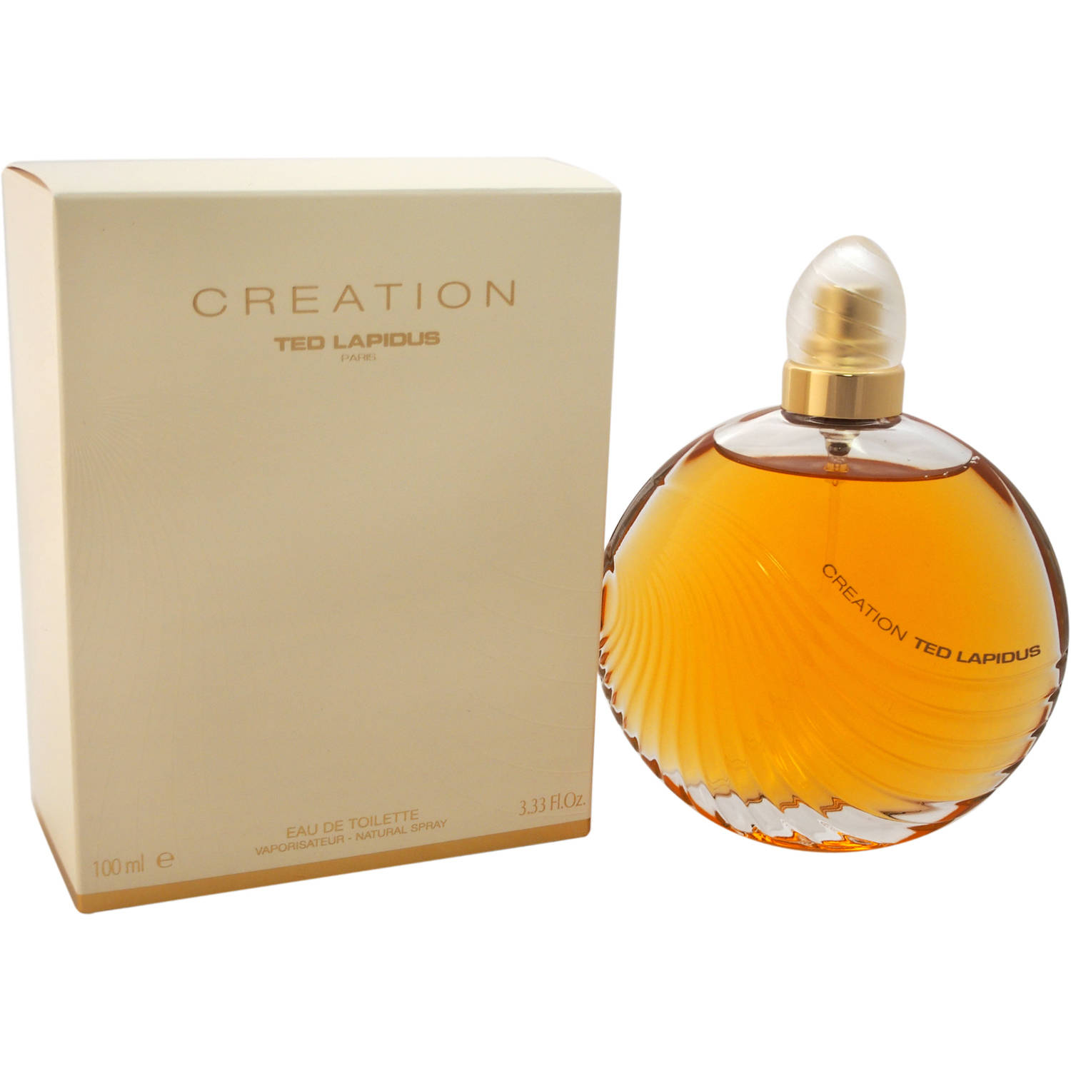Ted Lapidus Creation for Women Eau de Toilette Spray, 3.3 oz